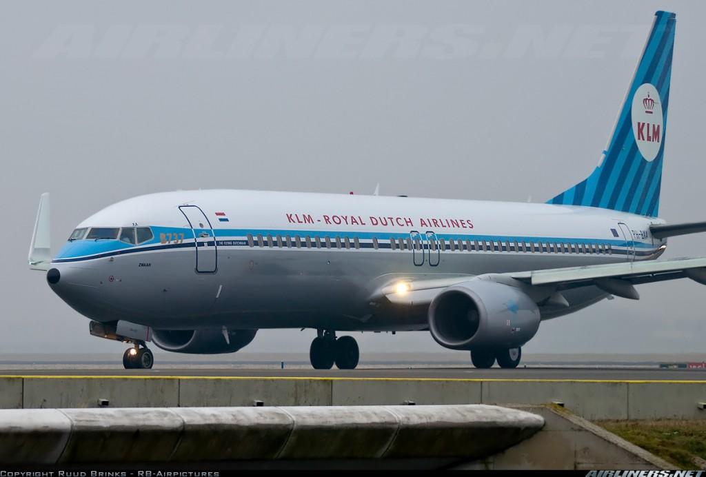 KLM 737 Vintage